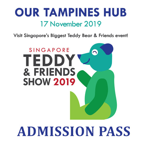 Singapore Teddy & Friends Show 2019 Admission Ticket