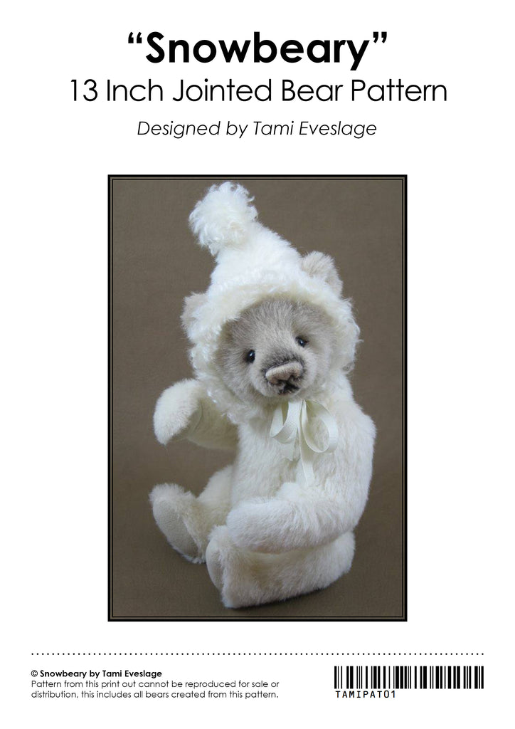 Snowbeary E-Pattern by Tami Eveslage