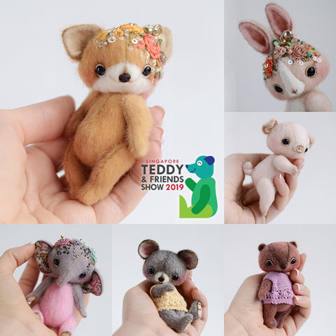 Miniature Teddy Bear/Animal Workshop by TS Mini Bears, 11am - 6pm
