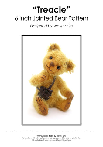 Wayneston Bears - Treacle E-Pattern