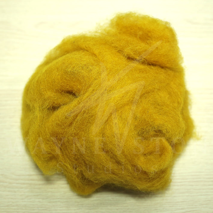 Corridale Wool Batting - Ochre