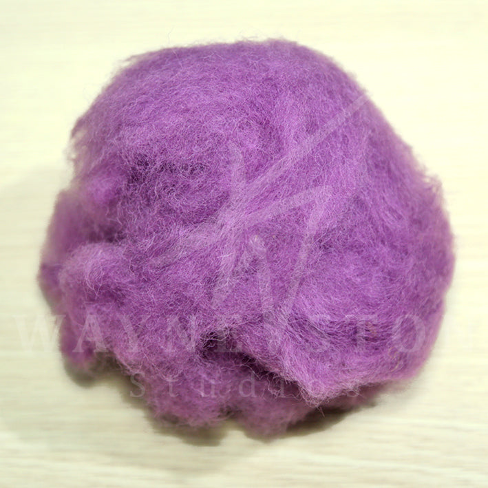 Corridale Wool Batting - Lavender
