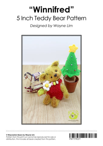 Wayneston Bears - Winnifred Kit (Pre-order)