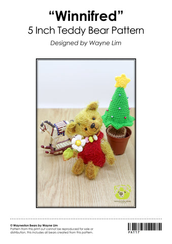 Wayneston Bears - Winnifred E-Pattern