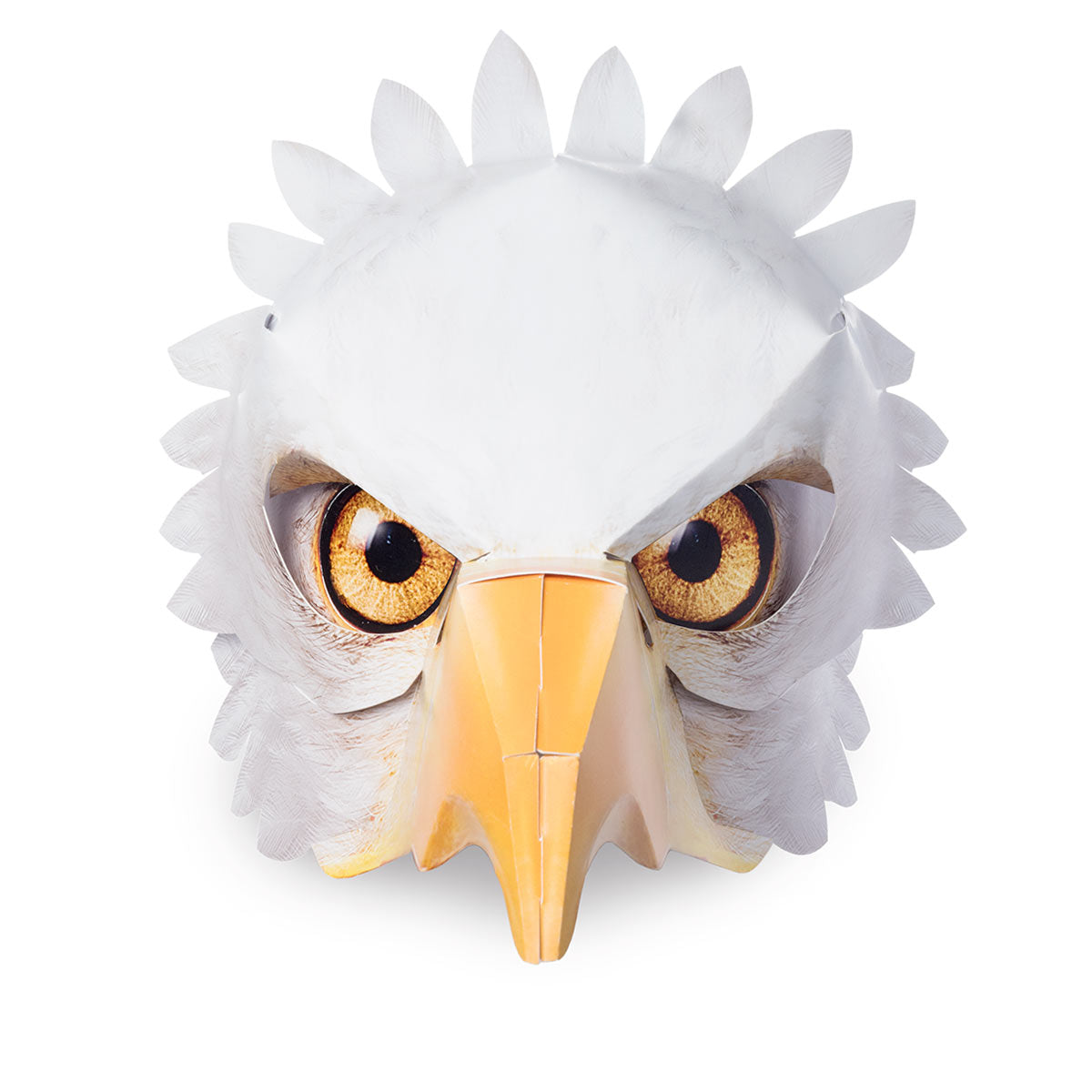 Mask Bald Eagle – Half mask front view
