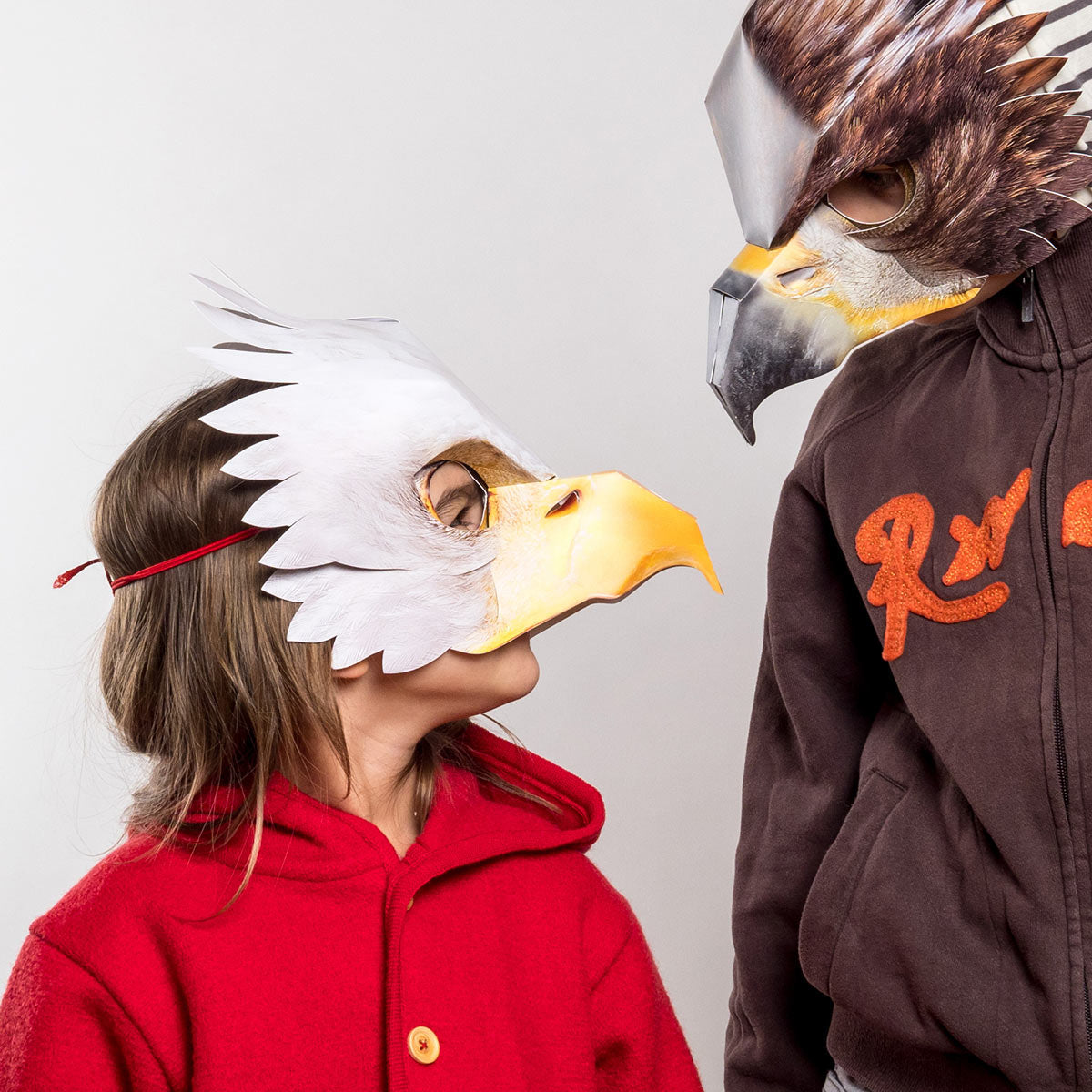 Mask Bald Eagle – Meeting the Golden Eagle