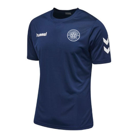hummel Core Poly T-Shirt (Navy)