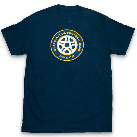 Owner Crest T-Shirt (Navy)