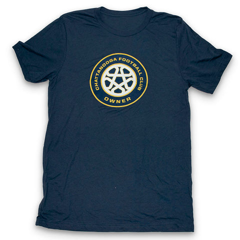 Owner Crest Bella Unisex T-shirt (Navy)