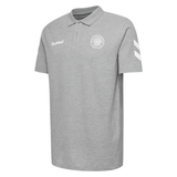 hummel Team Polo (Gray)