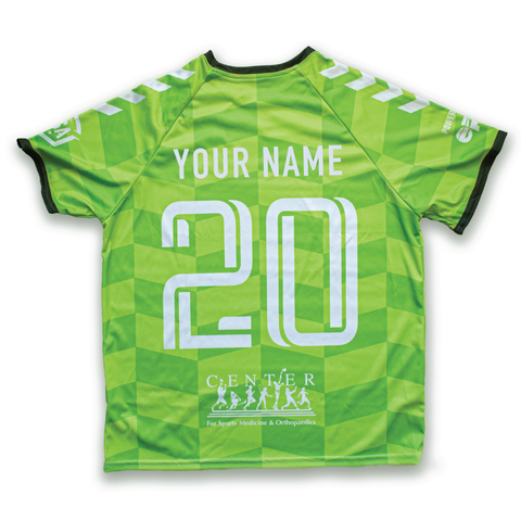 2020 Keeper Jersey + Personalization (Alternate - Green)