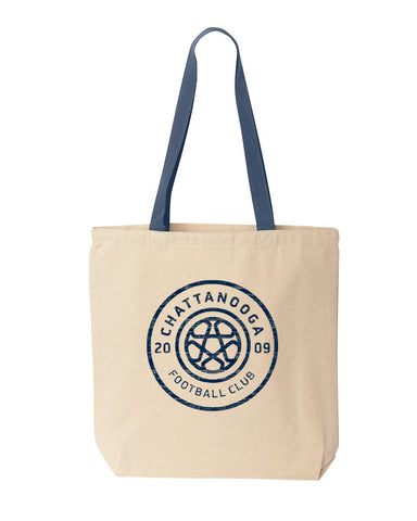 Canvas Tote Bag - Antiqued Navy