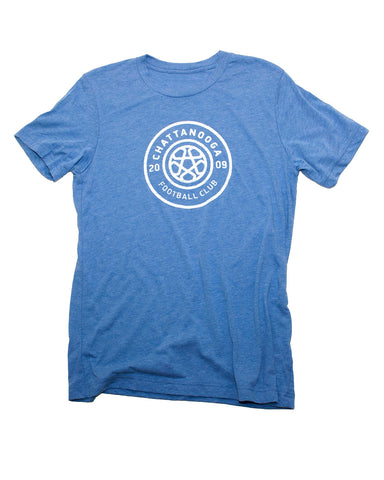 Antique Logo T-Shirt (Blue Tri-Blend)