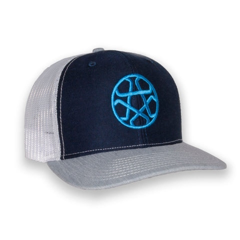 Cap-Star Ball (Navy/Sky)