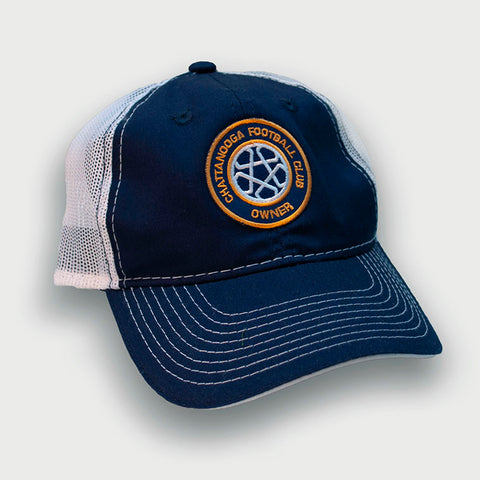 Owner Cap - Crest (Mesh Back)