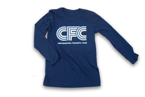 Retro CFC Logo Long-Sleeved T-Shirt