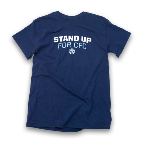 Stand Up For CFC T-shirt (Navy)