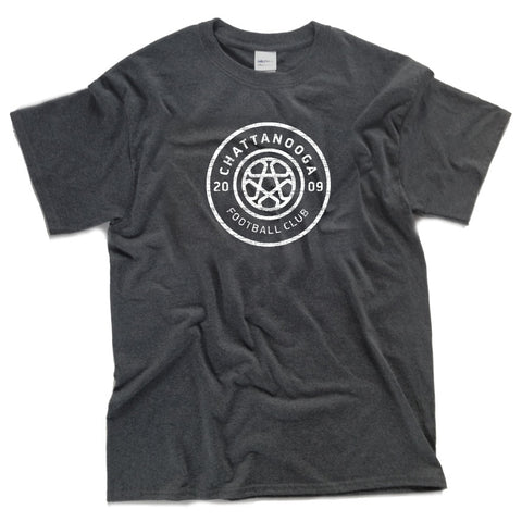 Youth Antiqued Logo T-shirt (Gray)