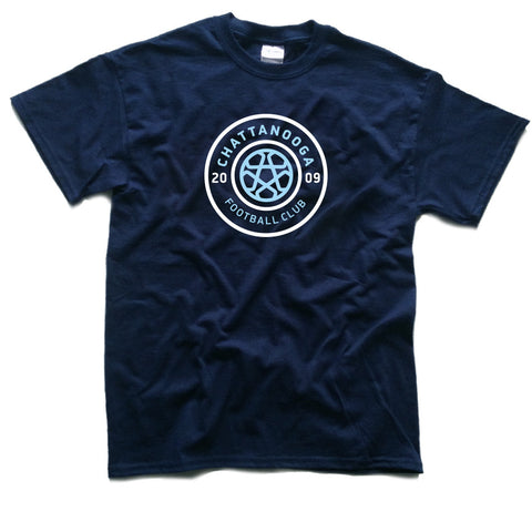 Youth Tricolor Logo T-Shirt (Navy)