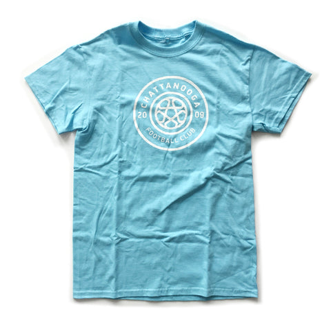 Antiqued Logo T-shirt (NEW Sky Blue)