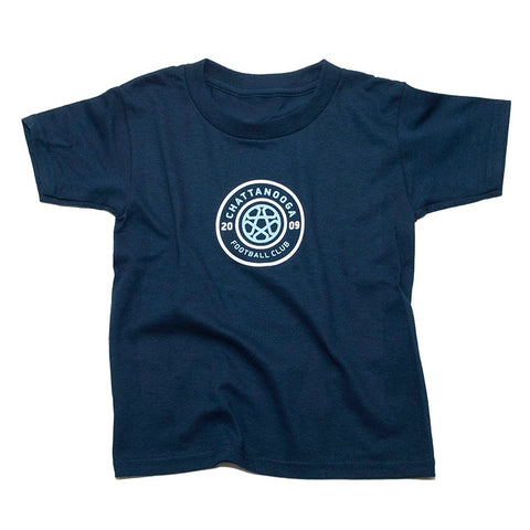 Tricolor Toddler T-Shirt (Navy)