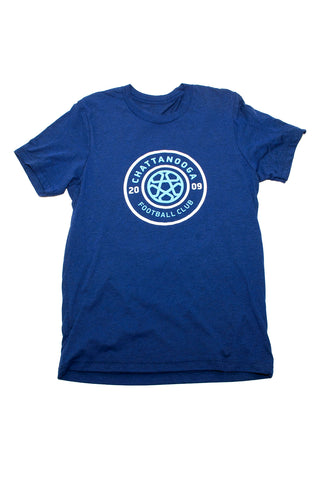 Tricolor Bella Unisex T-shirt (Navy)