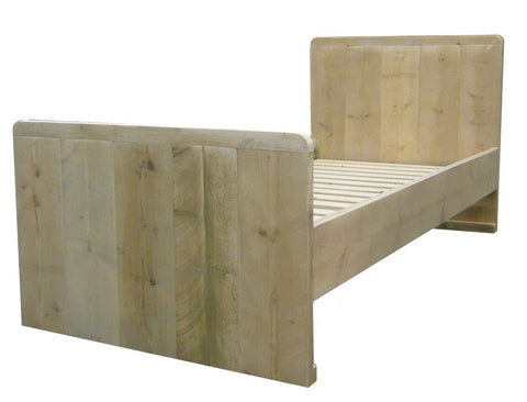 Bed steigerhout Julius 1 persoon