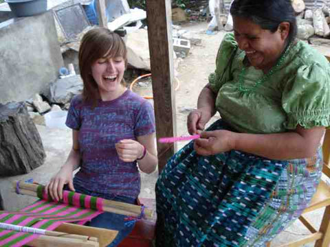 Learning Backstrap Weaving in Guatemala