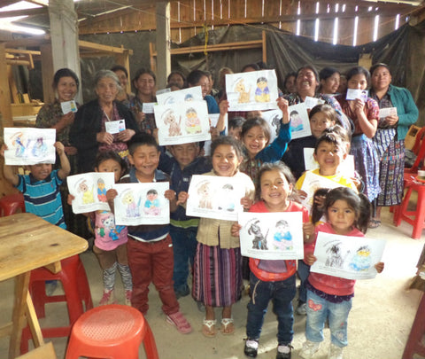 Bible Study in Guatemala