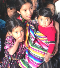 Guatemalan Children  in Vacation Bible School