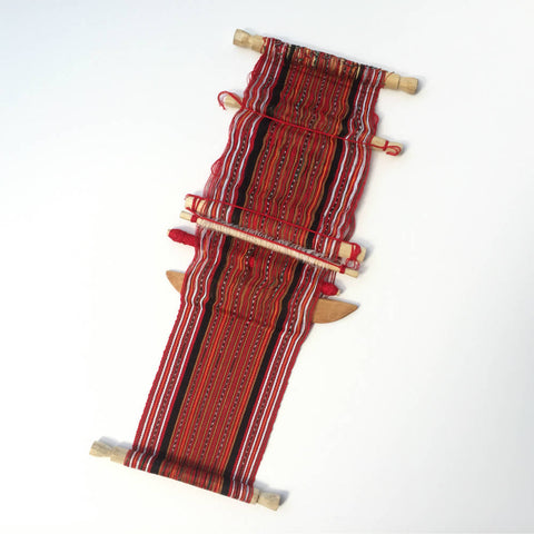 Typical Guatemalan Backstrap Loom
