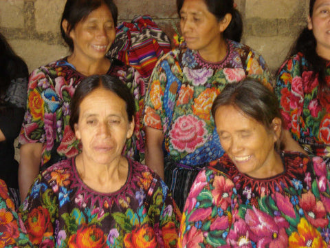 Guatemalan Huipils With Brocade