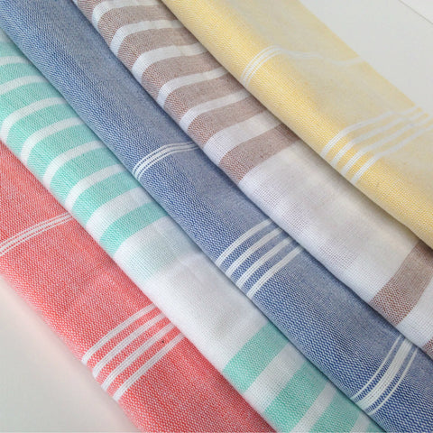 Ethical Home Decor, Fouta Bath Towels