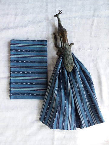 Fair Trade, Blue, Ikat Kitchen Towels, Set 2