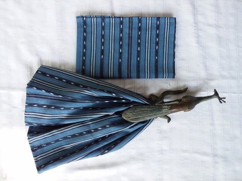 Fair Trade Handwoven Ikat Placemat.