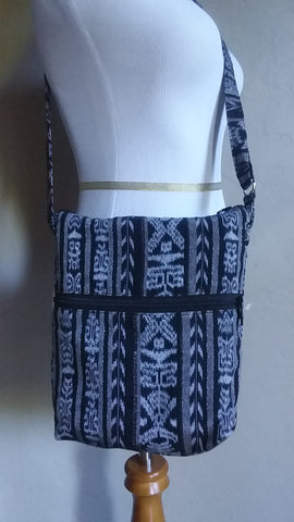 lyUpcycled Long Strap Cross Body Purse, Fair Trade & Eco Friendly