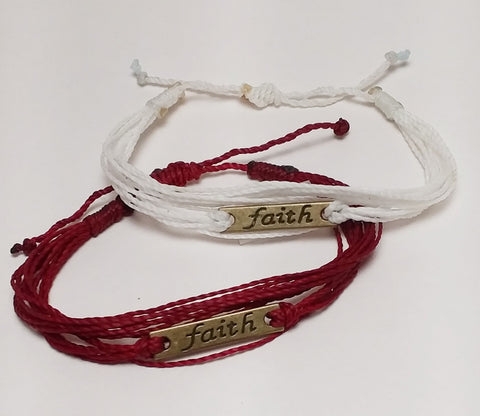 FAITH Fair Trade Bracelets 2 Educate Bracelets for Change