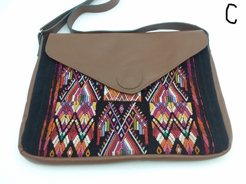 Handmade Guatemalan Huipil Padded Computer Bag Only 2 of each design!