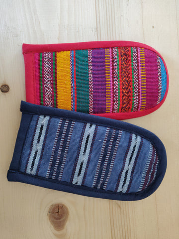 Handwoven Insulated Pan Handle Potholders