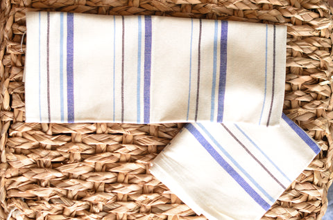 "NEW Handwoven Cotton Kitchen Towel ""the Marcela'"