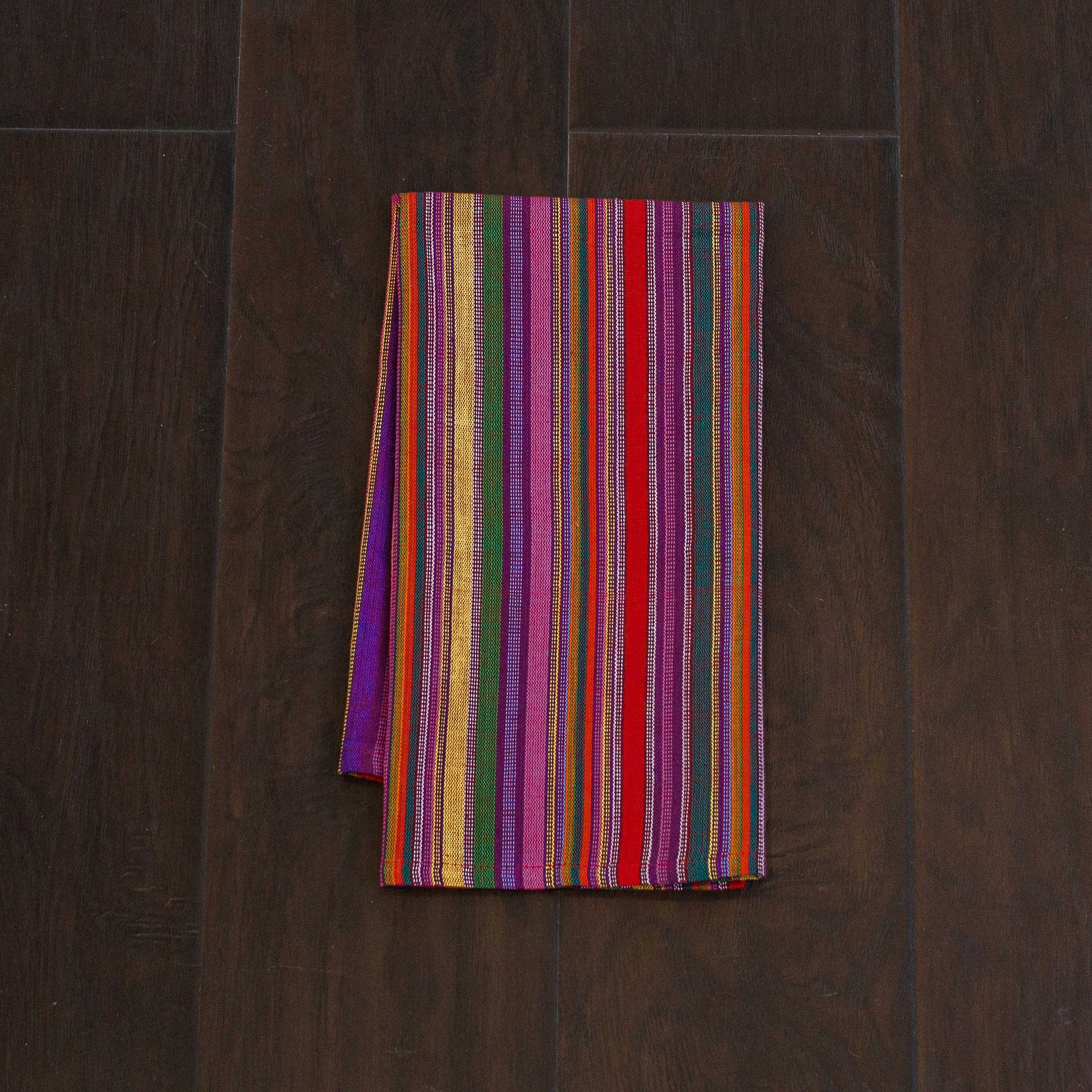 Bright, Multi Color Kitchen Towels, Ethically Sourced, Set 2 ...