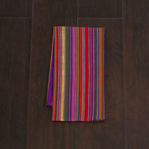 Bright Fiesta Multi Color Kitchen Towels Ethically Sourced Set 2 Education And More