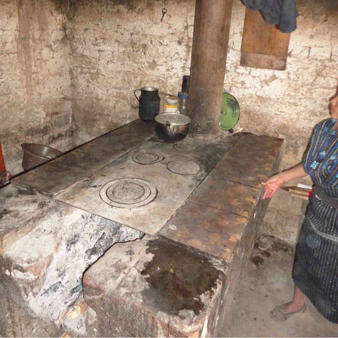 Alternative Gift of an Energy Efficient Kitchen Stove in Guatemala