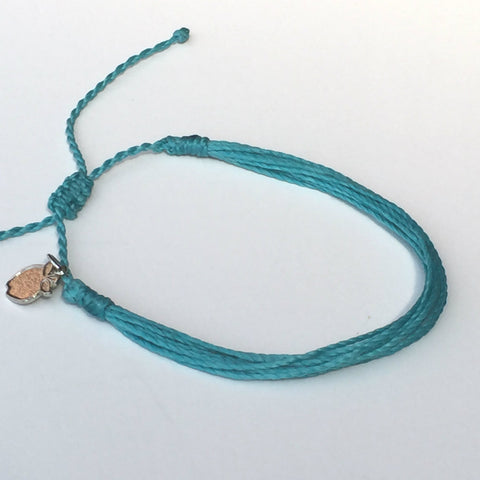 Turquoise Charity Friendship Bracelet