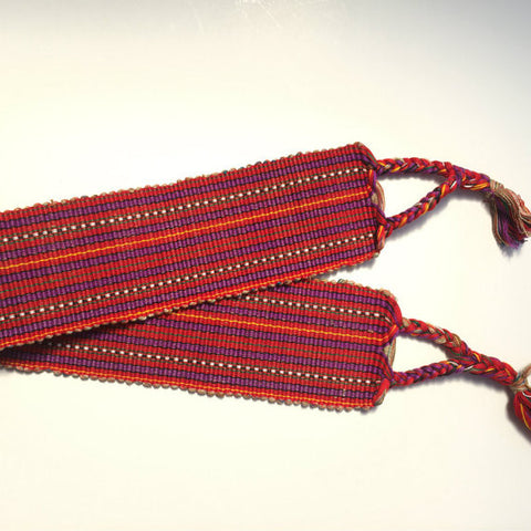 backstrap weaving loom belt