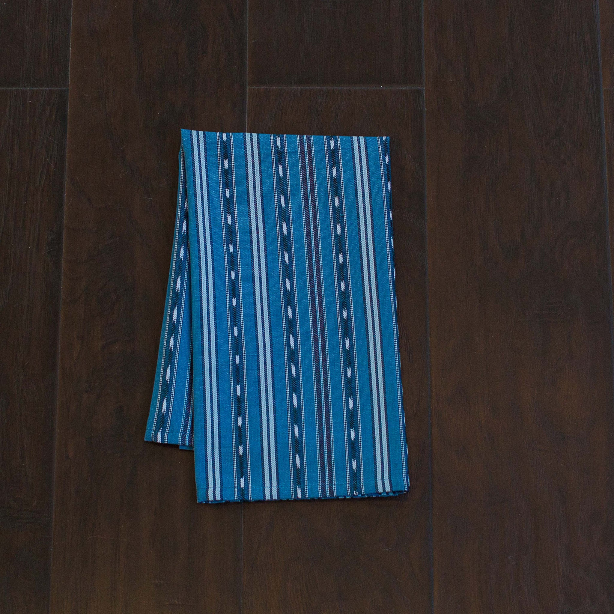 Fair Trade, Blue, Ikat Kitchen Towels, Set 2 - Education And More