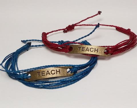 TEACH Fair Trade Bracelet 2 Educate Bracelet for Change