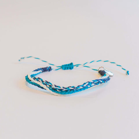 "Nautical Blues Ethical Friendship Bracelet, ""Bracelets2Educate"""
