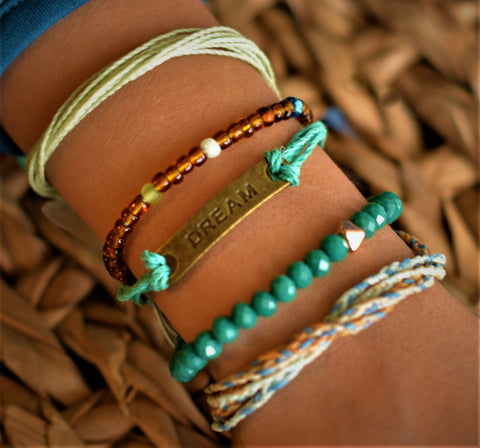 """Dreaming"" Stack Bracelet. Bracelet 2 Educate Bracelet for Change"