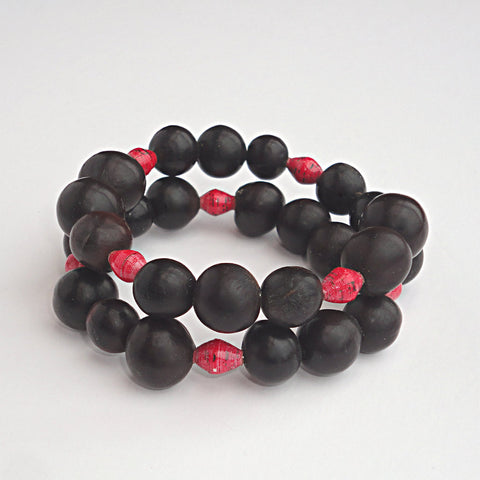 Eco friendly charity bracelets to educate children